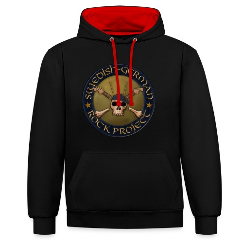 Swedish-German Rock Project - Kontrast-Hoodie