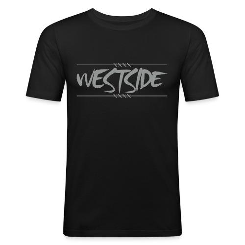 T-shirt Westside gris - T-shirt près du corps Homme