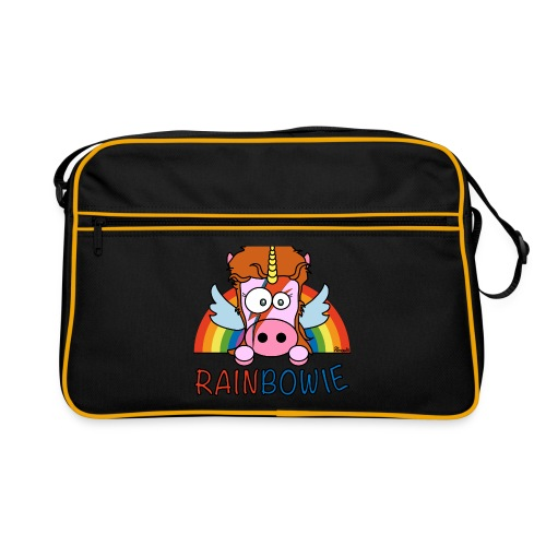 Sac Retro Unicorn, Licorne RainBow-ie - Sac Retro