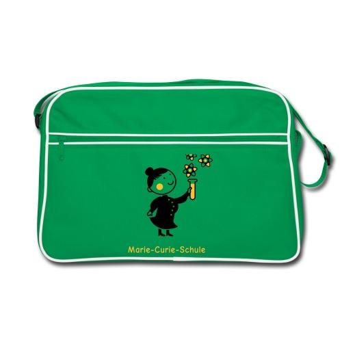 Retro Tasche Marie-Curie-Schule (grün) - Retro Tasche