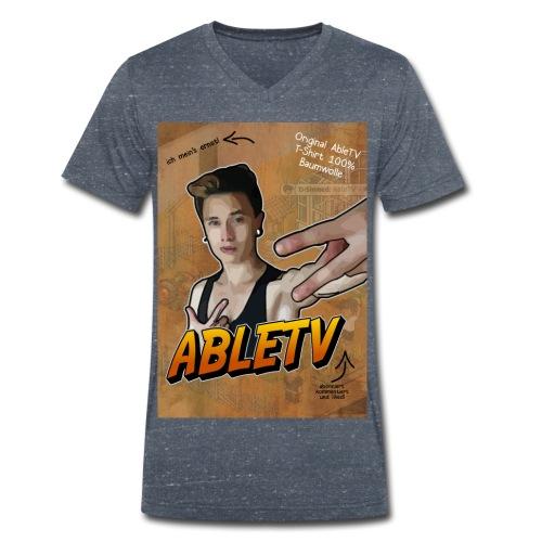 Playing Able Shirt - Männer Bio-T-Shirt mit V-Ausschnitt von Stanley & Stella