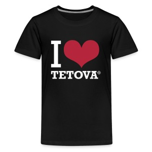 I LOVE TETOVA - Teenager Premium T-Shirt