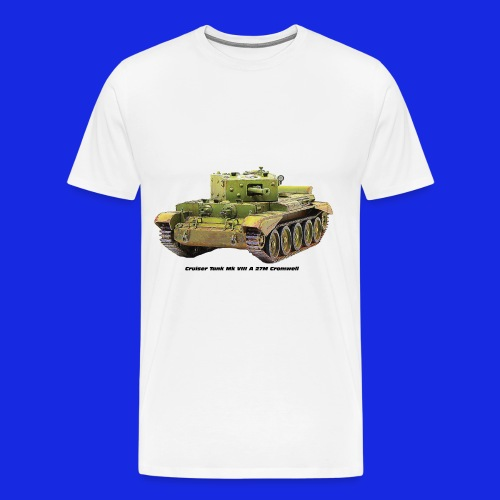 Cruiser Tank Mk VIII A 27M Cromwell - Men's Premium T-Shirt