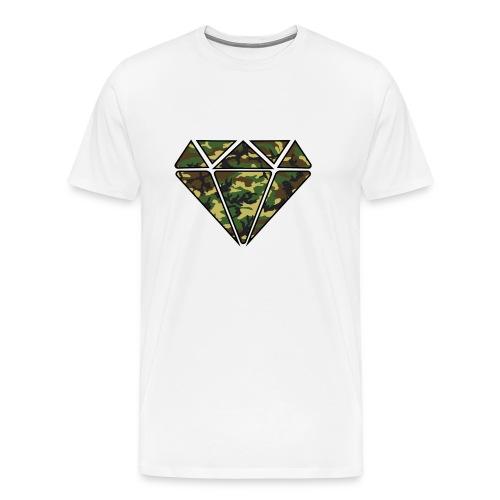 Crystal Camouflage - Men's Premium T-Shirt