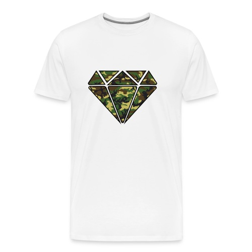 Crystal Camouflage - Men's Premium T-Shirt