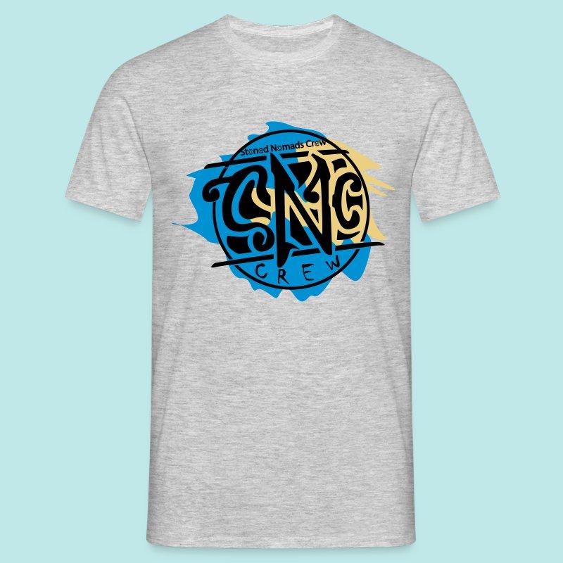 graffiti snc - crew, logo shirt - Männer T-Shirt