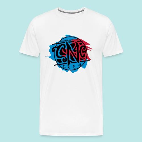 graffiti snc - crew, logo shirt - Männer Premium T-Shirt