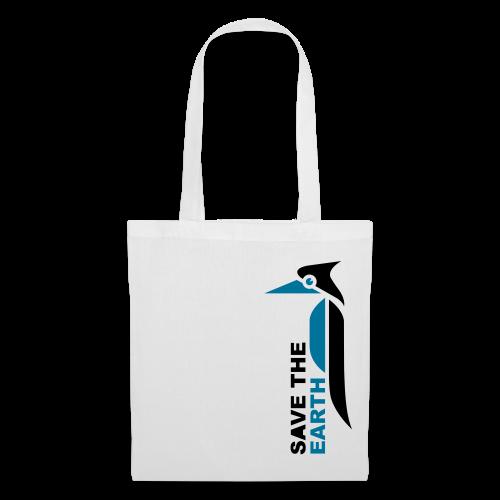 Stoffbeutel - Save the earth blue - Stoffbeutel