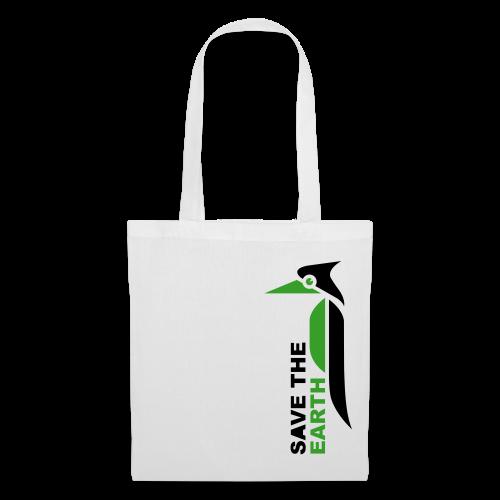 Stoffbeutel - Save the earth green - Stoffbeutel