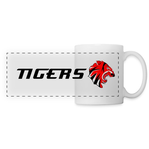 Tigers Logo Panoramic Mug (Atomatic Font) - Panoramic Mug