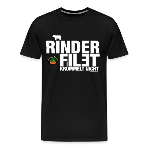 Rinderfilet krümelt nicht! - Männer Premium T-Shirt