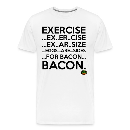 Bacon! - Männer Premium T-Shirt