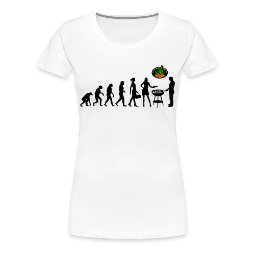 Evolution... - Frauen Premium T-Shirt