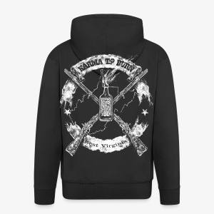 Karma To Burn Two Muskets - Men's Premium Hooded Jacket