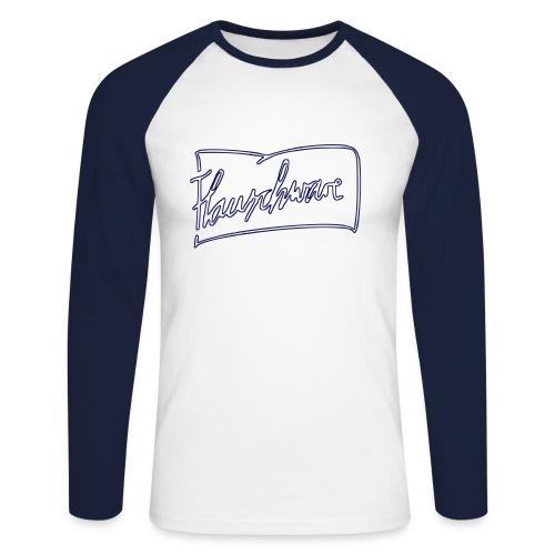 Flauschware Longsleeve two tone - Männer Baseballshirt langarm