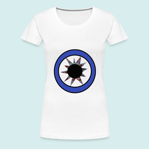 Blue eye Star - Women's Premium T-Shirt