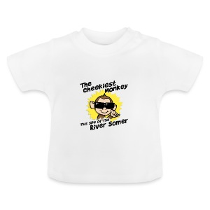 Cheekiest Monkey this side of the River Somer - Baby T-Shirt