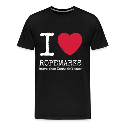 I love Ropemarks (more than Knutschflecks) - Männer Premium T-Shirt