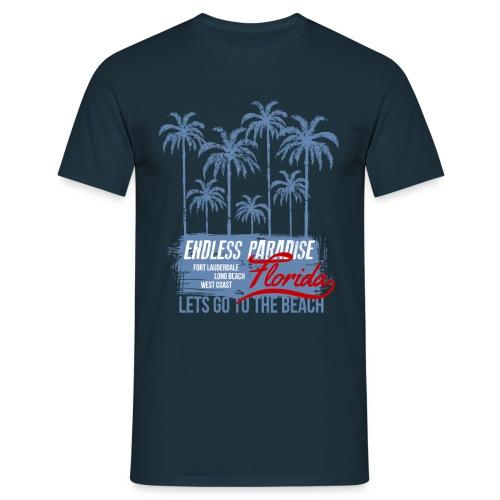 Palms Paradise - Männer T-Shirt