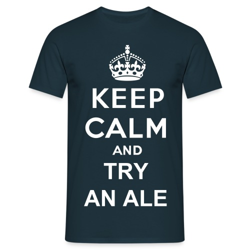 Try an Ale - Mannen T-shirt