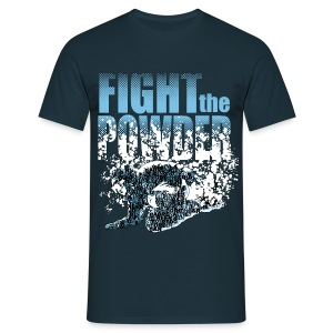 Fight the powder - Männer T-Shirt