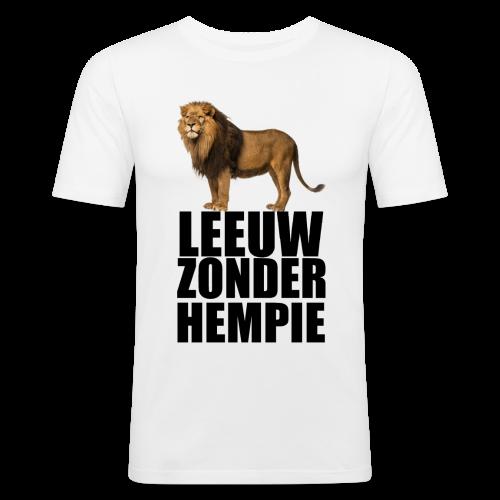 Oranje Leeuw zonder hempie! - slim fit T-shirt
