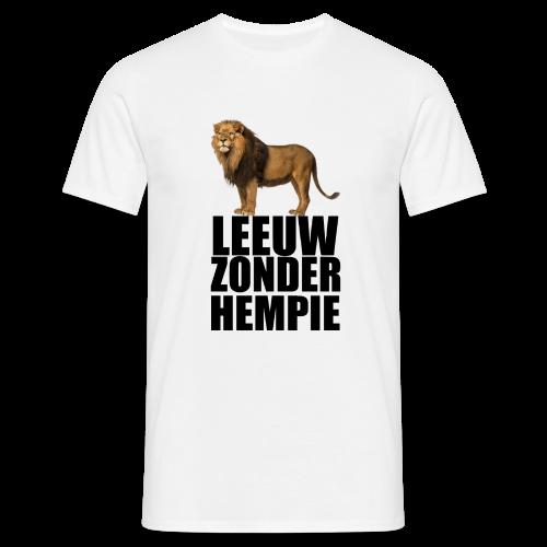 Oranje Leeuw zonder hempie! - Mannen T-shirt