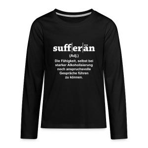 Sufferän - Teenager Premium Langarmshirt