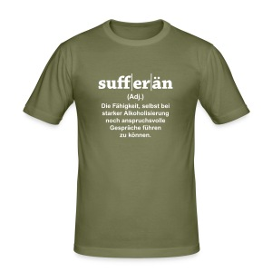 Sufferän - Männer Slim Fit T-Shirt