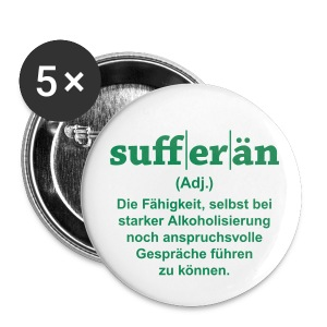 Sufferän - Buttons groß 56 mm
