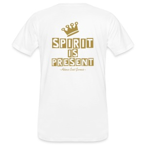Spirit is Present (uomo/male) - T-shirt ecologica da uomo