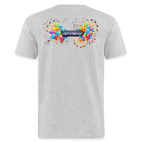 Spirit is present man t-shirt - T-shirt ecologica da uomo