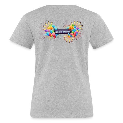Spirit is Present woman t-shirt - T-shirt ecologica da donna