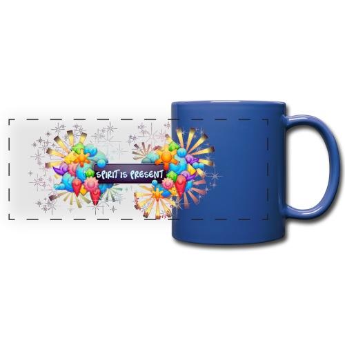 Spirit is Present one-color mug - Tazza colorata con vista