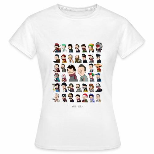 New Wankil World - Femme - T-shirt Femme