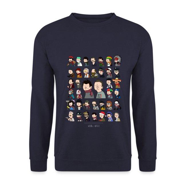 Sweatshirt New Wankil World