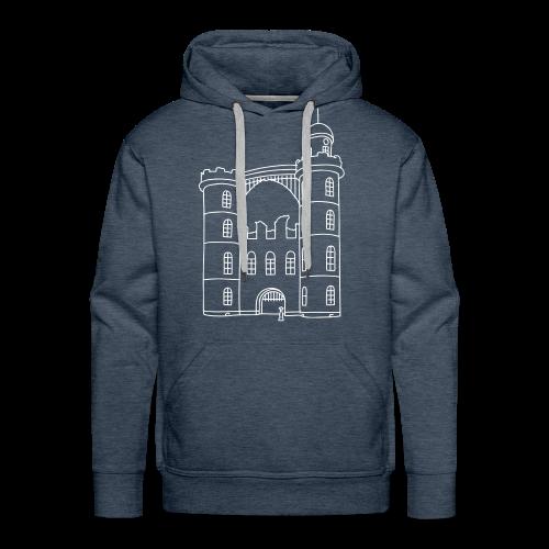 Schloss der Pfaueninsel - Männer Premium Hoodie