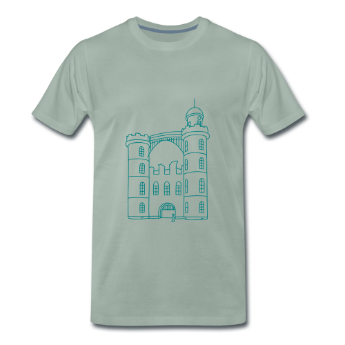 Schloss der Pfaueninsel - Männer Premium T-Shirt