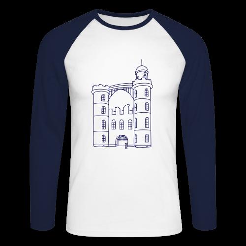 Schloss der Pfaueninsel - Männer Baseballshirt langarm