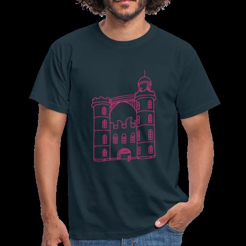 Schloss der Pfaueninsel - Männer T-Shirt