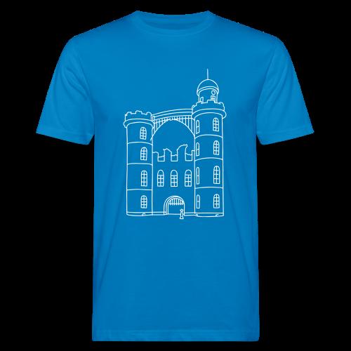 Schloss der Pfaueninsel - Männer Bio-T-Shirt