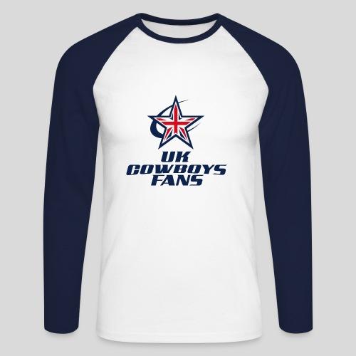 Men's Long Sleeve Baseball T-Shirt - Men's Long Sleeve Baseball T-Shirt