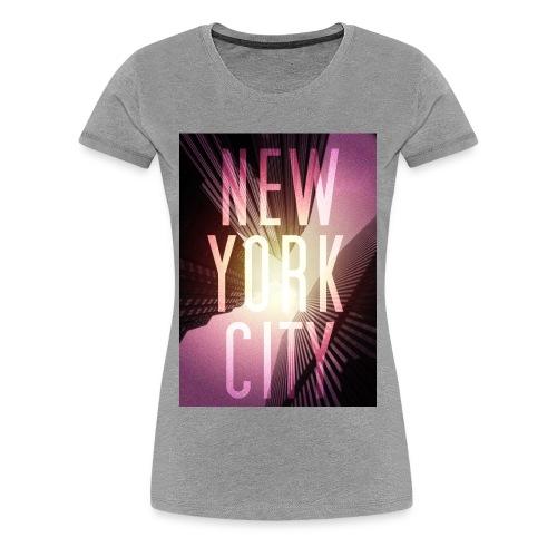 New York City Red - Frauen Premium T-Shirt