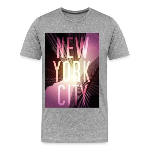 New York City Red - Männer Premium T-Shirt
