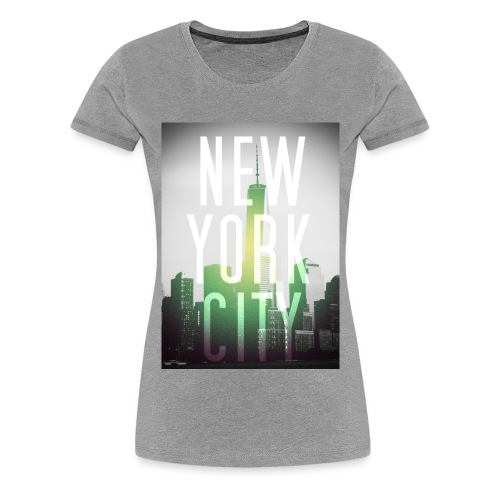 New York City Green - Frauen Premium T-Shirt