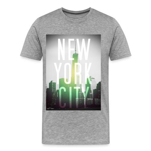 New York City Green - Männer Premium T-Shirt