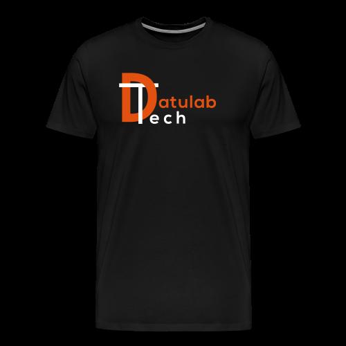 Datulab Tech Logo on T-Shirt - Men's Premium T-Shirt