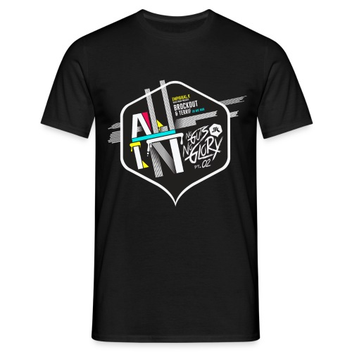 NGNG: BLACK / T-SHIRT - Men's T-Shirt