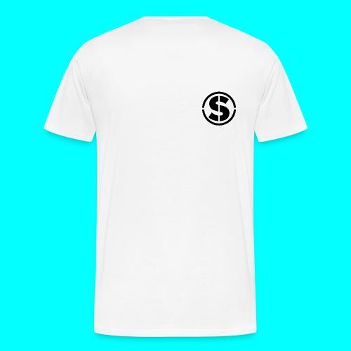 White Sense Logo T-Shirt - Men's Premium T-Shirt