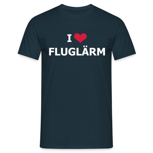 FSC I Love Flugflärm Shirt - Männer T-Shirt